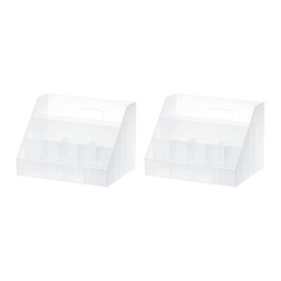 Like-It Universal Organizer Storage Tray for Home, Office, Desktop (2 Pack)