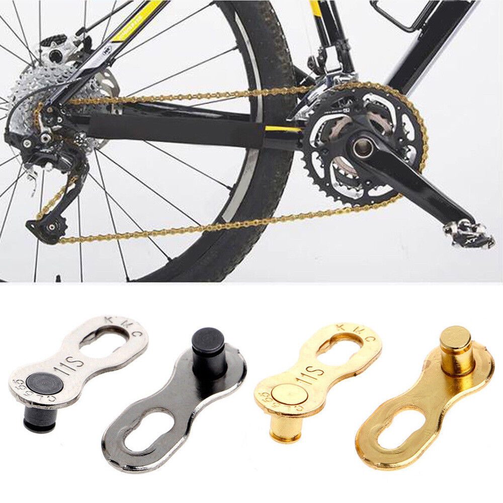 10Pcs Portable Bicycle Chain Master Link Joint Connector 11 Speed Quick Clip New
