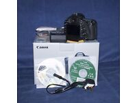 Canon EOS 5D Mk III, camera boxed with extras