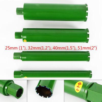 4pcs Green 1-2 Wet Diamond Core Drill Bit Hole Opener Set For Concrete Brick