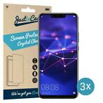 Just in Case Huawei Mate 20 Lite Screenprotector - 3 stuks -