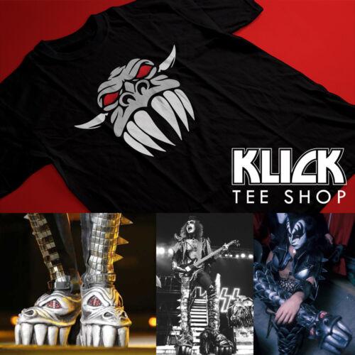 KISS band T-shirt Gene Simmons - Dragon Face S—5XL