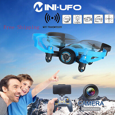 Usa Stock 512V 2 4Ghz 4Ch 6 Axis Fpv Mini Rc Quadcopter Drone With Hd Camera New