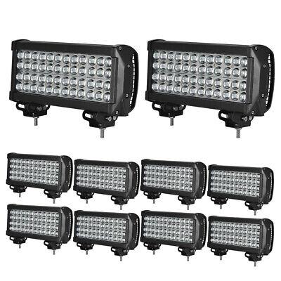 2x-10x 18W LED Arbeitsscheinwerfer Offroad Flutlicht Scheinwerfer für Jeep SUV
