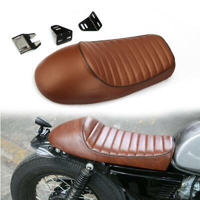 Motorcycle Vintage Cafe Racer Hump Saddle Seat for Harley Suzuki GS Yamaha XJ