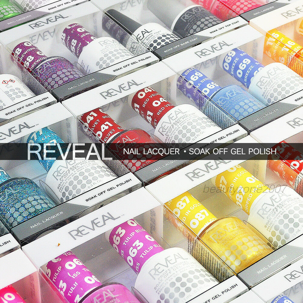 Reveal Gel Polish & Nail Lacquer Matching Duo Soak Off *Choo