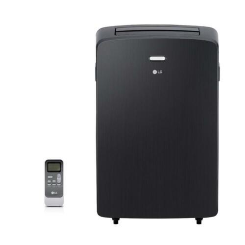LG 12,000 BTU (7,000 BTU DOE) Portable Air Conditioner with Window Kit, Black