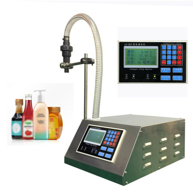 Automatic Quantitative Liquid Filling Machine Digital Filler Encapsulation 210W