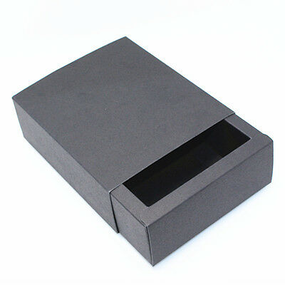 Black Kraft Paper Drawer Box Jewelry Gift Craft Paper Packaging Boxes