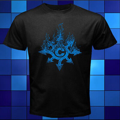 New Chimaira Heavy Metal Band Logo Black T-Shirt Size S M L XL 2XL 3XL