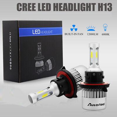 H13 9008 1500W 225000LM CREE LED Headlight Kit HiLo Beam Bulb White 6000K Power