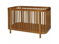 Kub Dreema Cot Bed - Walnut RRP £219.99