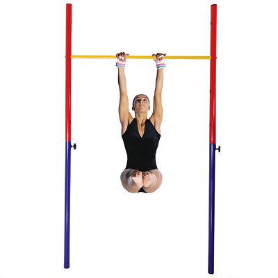 Outdoor Kids Einstellbare Gymnastik Horizontale Bar Hinterhof Fun Training Gym