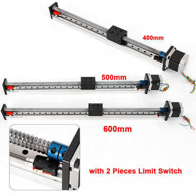 New Cnc Linear Rail Guide Slide Stage Actuator Ball Screw Motion Table Nema Best