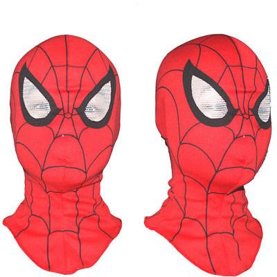 Kinder Spiderman Maske (Kinder Cosplay Super Hero Spiderman Maske Erwachsene Kostüm Party L50)