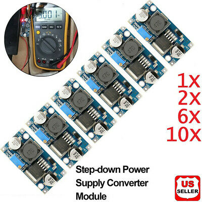 1x 10x Lm2596s Dc-dc 3a Buck Adjustable Step-down Power Supply Converter Module