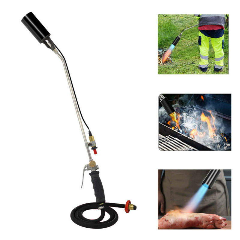 Propane Torch Weed Burner Ice Snow Melter / Flame Dragon Wand Igniter Roofing