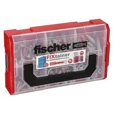 Fischer 535968 Dübel FIXtainer DUOPOWER Universaldübel Stapelbox