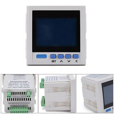Pro Three Phase Multifunction Digital Volt Amp Power Meter Energy Accumulation