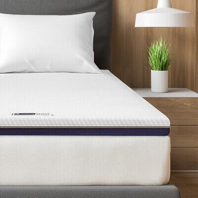 BedStory Gelschaum Memory Topper Matratzentopper H2+H3 Auflage 180x200x7,6CM