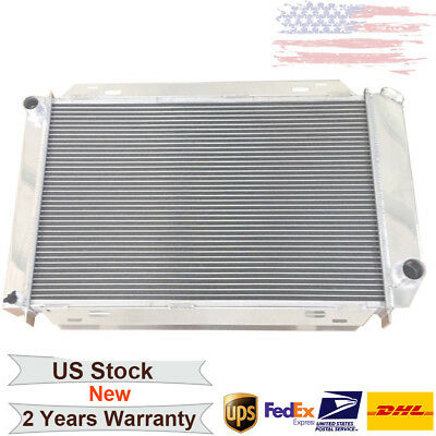 Cooling Radiator for Ford Mustang GT SVT 5.0L 1994 1995 AT New Polished Aluminum