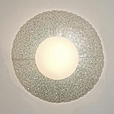Holländer 300 K 13185 S Wall Light 2-flammig Utopistico Grande Iron-Glass Silver
