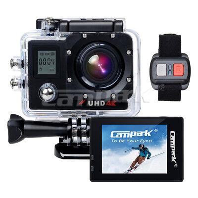 Campark ACT76 Action Kamera Sport Cam 16MP 4K 1080P Wifi mit Dual LCD Bildschirm