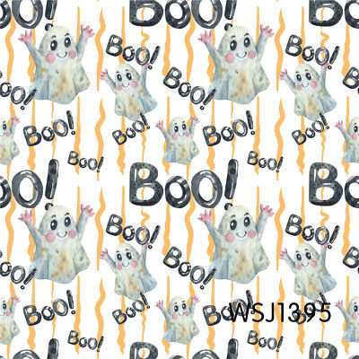 Cute Halloween Background ( 8X8FT Halloween Cute Ghost Boo Vinyl Studio Backdrop Photo Background)