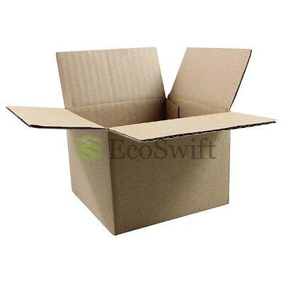 1-200 4x4x3 Ecoswift Cardboard Packing Mailing Shipping Corrugated Box Cartons