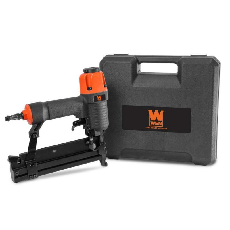 18-Gauge 2 In. 2-In-1 Pneumatic Brad Nailer And Stapler With