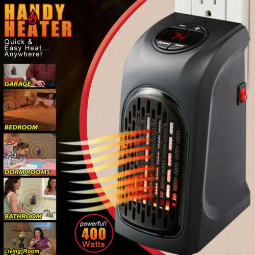 Mini Warm Heater Plug-in Wall-outlet Space Fans Heater Porta