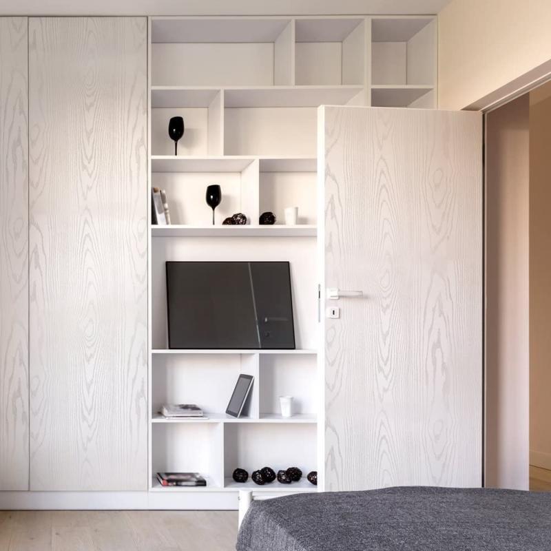 Wood Paper Peel and Self-Adhesive Countertops