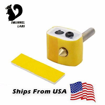 10pcs 3D Printer Heat Block Nozzle Heat Insulation Cotton For Ultimaker Makerbot