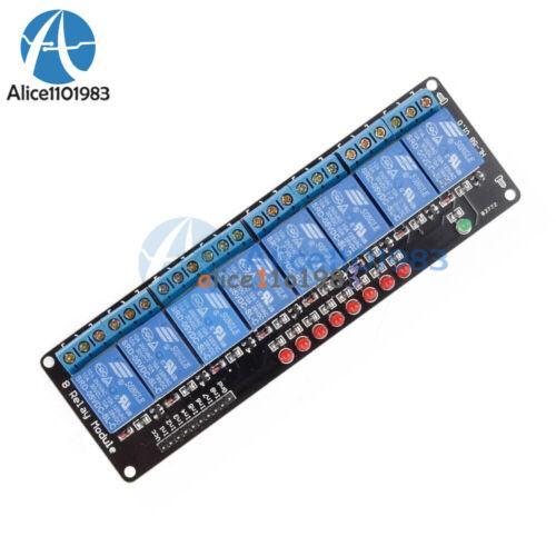 1//2//4//6//8 Kanal Relais Board Modul Optokoppler LED ARM Mode für PiC J8Y6