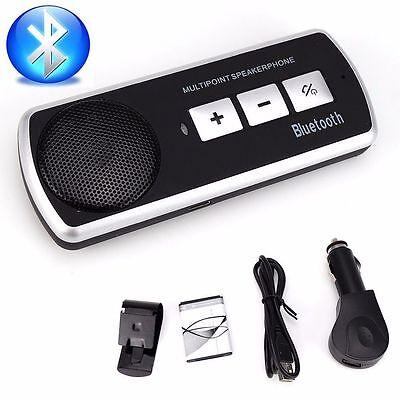 Auto KFZ Bluetooth3.0 Freisprecheinrichtung Freisprechanlage Verbinden 2 Handy%G
