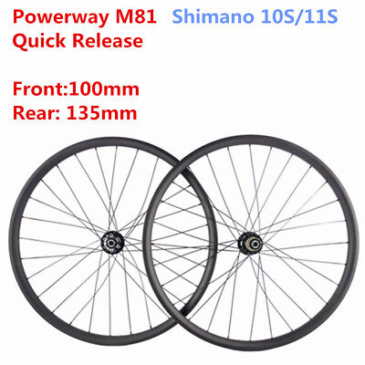 06669a1cf20 27.5ER carbon mountain bike wheelset for AM XC 30mm width quick release  100/135