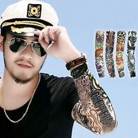 1pcs Tattoo Sleeves Cartoon Tattoo Totem Tattoo Sticker Cuff Sunscreen Sleeves U - unbranded - ebay.co.uk