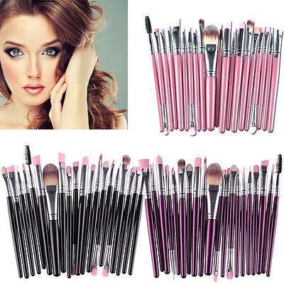 20pcs Makeup Brush Set tools Make-up Toiletry Kit Wool Foundation Make Up xz