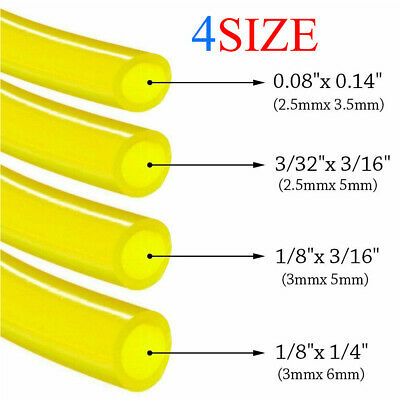 4 Size 8 Feet Fuel Line Hose Tube for Poulan Craftman Stihl Husqvarna Chainsaws