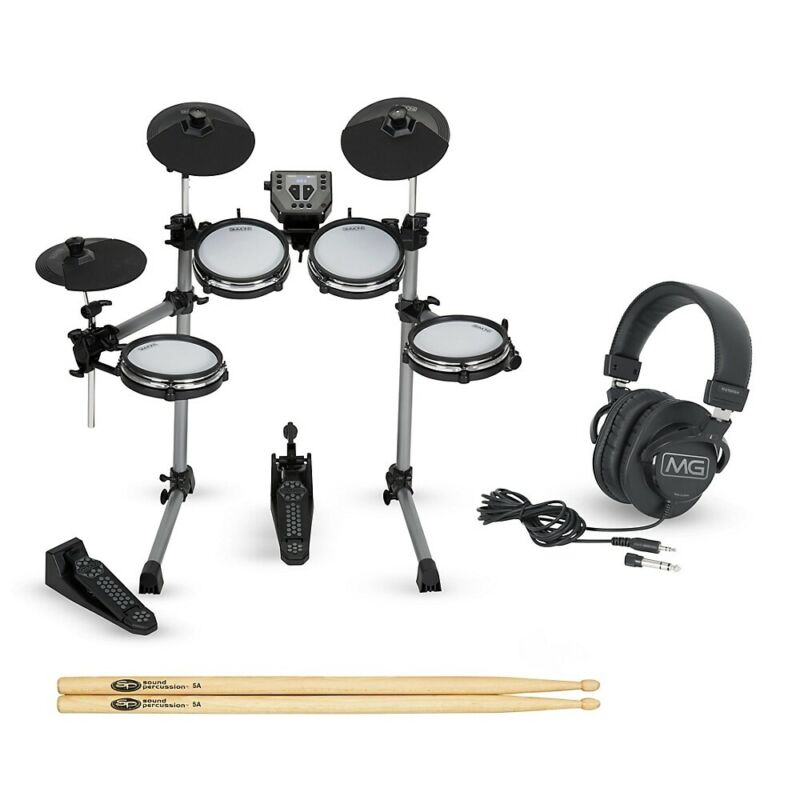 Simmons SD350 Electronic Drum Kit with Mesh Pads Starter Set