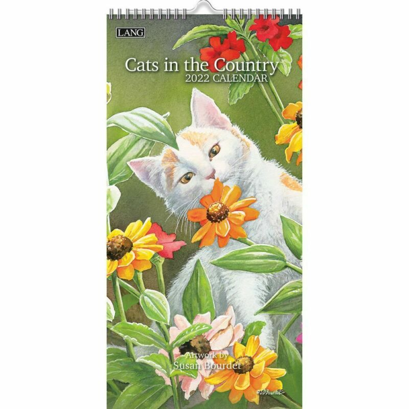 Lang Companies,  Cats In The Country 2022 Vertical Wall Calendar