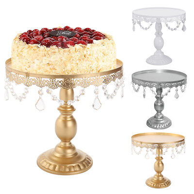Set of1/3/6 Cake Stand Round Cupcake Tower Stands Metal Dessert Display Plates