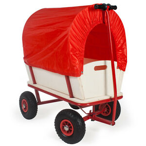 Wagon cart kids trolley truck cart pull along wagon garden trolley cart cover