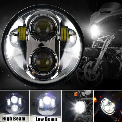 5.75'' LED Headlight Hi/Low Beam 50W for Victory Motorbike Indian Scout Victory