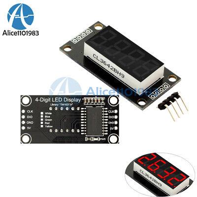 0.36 Tm1637 7-segment 4-bit Digital Tube Led Red Display Module For Arduino