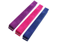 FXR Sports Suede 2.1m Folding Gymnastics Gym Beam - 3 Colours Available
