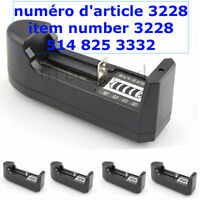 1pcs Rechargeable Single Slot Battery Charger For 26650 18650 1