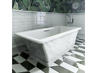 Ex Demo Kohler Reve 1700x800mm Cast Iron Free Standing Bath