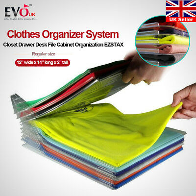 Clothes Organizer System Closet Drawer Desk File Cabinet Organization EZSTAX