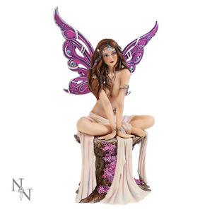 Nemesis Now Jewelled Fairy Amethyst Gothic Figurine Ornament Sculpture 20.5cm